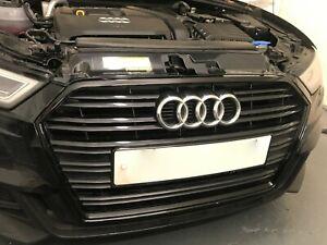 3M 2080 Gloss black vinyl dechrome for Audi A5, A6, A4, A3, A1 Front Grille