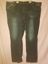 Mens Size 46x30 Marc Ecko Cut Sew Slim Straight Fit Jeans Pants Free Shipping