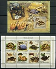 Sao Tome' 2006 TARTARUGHE TURTLES Set + BLOCCO MNH