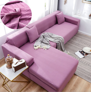 Stretch Sofa Chair Couch Cover Slipcover Slip Covers 1 2 3 4 Seater Elastic New