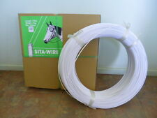 SITA white nylon horse fencing sighter wire 4mm x 770m