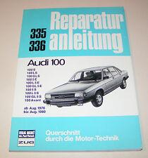 Reparaturanleitung Audi 100 / Avant Typ 43 - Baujahre 1976 bis 1980!