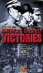 """America""""s Greatest Victories (DVD, 2002, 2-Discs) The History Channel  NEW"""