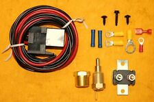 Thermostat Fan Sensor Temperature Kit 185 of 200 on 30 amp Relay Fits Chevy Ford