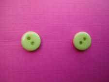 Funky Verde Lime Mini pulsante Orecchino Kitsch Carino retrò novità divertente COOL REGALO