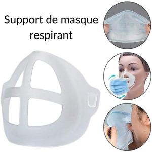 Support Masque 3D idéal Maquillage et Respiration (Adulte) !