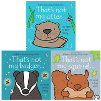 That's not my series 5:3 books collection set By Fiona Watt Otter badger BB NEW