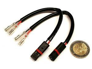 Câble Adaptateur Pour Aprilia Halogène Clignotants LED