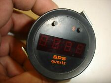 52mm Auto SPS Gauge Digital WATCH LED VINTAGE