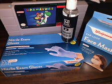 Nitrile Exam Gloves One Size 120 Gloves + FREE ITEMS