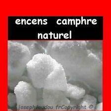 encens camphre naturel - magie blanche - protection - sachet de 30 g