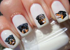 Rottweiler Nail Art Stickers Transfers Decals Set of 50