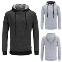 US Mens Long Sleeve Casual Hooded Hoodie Sweatshirts Thick Hooded Jackets GIFT