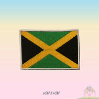 Jamaica National Flag Embroidered Iron On Patch Sew On Badge
