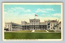 Baton Rouge LA-Louisiana, State Institute for the Deaf & Dumb, Vintage Postcard