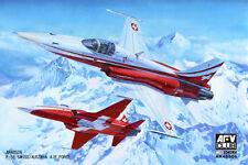 AFV Club 1:48 Scale F-5E Swiss/Austria Air Force Plastic Model Kit AR48S06