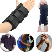 Wrist Support Splint Brace Carpal Tunnel Arthritis Sprain Pain Left Right Hand
