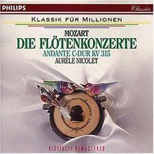 Mozart Flötenkonzert Nr. 1, KV 313/Nr. 2, KV 314/Andante für Flöte und Or.. [CD]