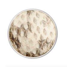 Nikki Lissoni Medium Silver Coin Leather Snake C1373SM