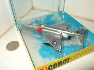 Rare Vintage Diecast Model Corgi Aircraft, 1316 McDonnell Douglas F-4E Phantom 2