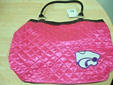 QUILTED TOTE / KANSAS STATE UNIVERSITY (PINK)