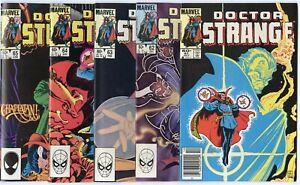 Doctor Strange #61 - 81  Complete Run  avg. NM 9.4  Marvel  1983  No Reserve