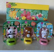 Solar Power Dancing Toy Daiso Set Of 3