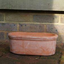 50cm Terracini Oval Trough Garden Planter Plant Pot Flower Pot