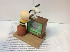 """HALLMARK PEANUTS GALLERY SNOOPY & CHARLIE BROWN WHEN LIFE GETS FUZZY"""" NEW IN BOX"""