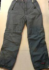 PATAGONIA BOYS Snow Pants Gray XL 14 Outerwear Bottoms