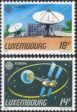 Lussemburgo 1991 EUROPA/spazio/SATELLITI/piatto Radio Antenna/ORBITA 2 V Set (lu10109)