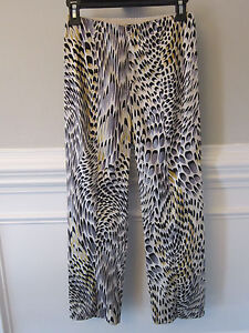 NWT MESMERIZE STRETCH SKINNY CIGARETTE PANTS Animal Print Sz 4 $96 Retail