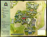 NEW 2021 Walt Disney World All Star Movies Resort + 4 Theme Park Guide Maps !!!!