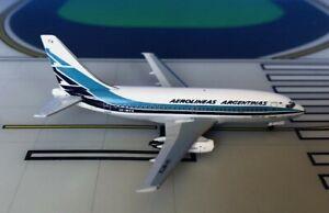 Aerolineas Argentinas Boeing 737-200 LV-WTX 1/400 scale diecast Aeroclassics