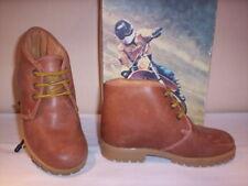 Scarpe alte polacchini scarponcini Elettra bimbo bambino casual pelle marroni 26