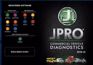 JPRO Commercial Fleet Diagnostics 2019 Full Program [ FULLY ACTIVATED ]