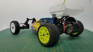 RC Team Associated RC10 B4  Vintage Buggy Roller Only