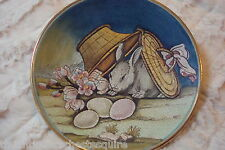 """""""1973 Easter"""" by Tiziano, Veneto Flair Italy hand etched and painted [am15]"""
