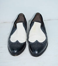 Vintage 50's Men's Rockabilly 2 Tone Spectator Dress Shoes by Nettleton 9 1/2 A
