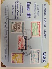 Guernsey Sark Stamps - 1962 Europa M31 FDC