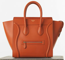Celine Mini Luggage Handbag Light Copper color