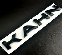 KAHN Rear Trunk Emblem Car Front Badge For Defender Discovery Sport LE Edition