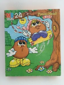 Vintage Potato Head Kids 24 Piece Jigsaw Puzzle Milton Bradley 1986