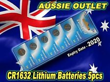 Quick Delivery CR1632 Lithium Cell Batteries 3 Volts 5 pcs. - Stock in Australia