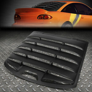 FOR 95-03 CAVALIER SUNFIRE 2-DR REAR WINDSHIELD WINDOW LOUVER SUN SHADE COVER