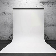 Pure White  5x7FT/3x5FT Vinyl Photo Studio Cloth Photography Background USA Hot