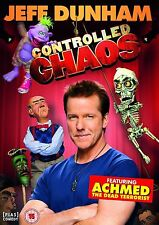 Controlled Chaos Jeff Dunham Brand New and Sealed Region 2 UK DVD Dead Terrorist