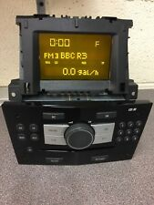 Vauxhall Cd30 Vxr car radio stereo CD player +Paired Display Astra Corsa Vectra
