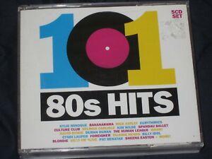 101 80'S HITS - 5 CD SET - VARIOUS ARTISTS