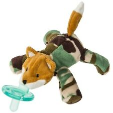 Little Camo Fox WubbaNub Infant Binkie Pacifier Soothie Stuffed Animal Toy